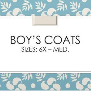 Other - Youth Boy's Coats Sizes 6X - Medium